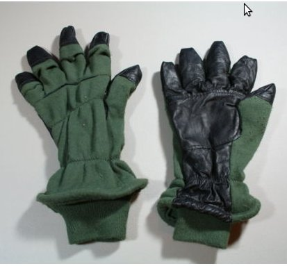 Gloves Flyers Intermediate Cold Weather (HAU-15P) USED, VG
