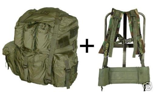 FIELD PACK, LC-1 TYPE, LARGE + Frame